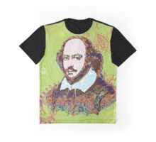 William Shakespeare Pyschedelic Graphic T-Shirt