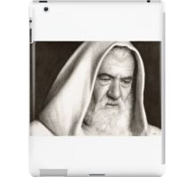 Gandalf The Lord of the Rings Pencil Drawing iPad Case/Skin