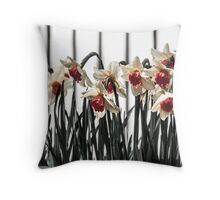 Daffodils in Spring Throw Pillow