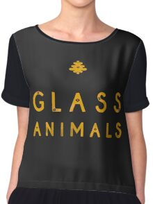 Glass Animals Yellow Chiffon Top