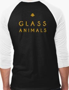 Glass Animals Yellow Men's Baseball ¾ T-Shirt