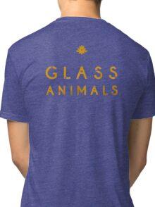 Glass Animals Yellow Tri-blend T-Shirt