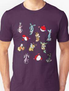 Eeveelutions (Coloured) - Pokemon T-Shirt