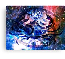 Astrology Cancer Sign Canvas Print