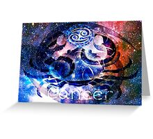Astrology Cancer Sign Greeting Card