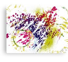Abstract Excitement Canvas Print