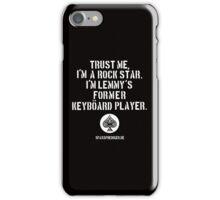 Trust me, I'm a rock star iPhone Case/Skin