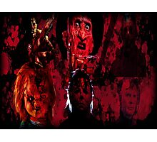 Masters Of All Horrors Photographic Print