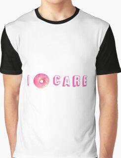 I DONUT CARE - TUMBLR - Graphic T-Shirt