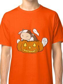 Spooky Halloween Cow Classic T-Shirt