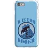 K is for Kookie iPhone Case/Skin