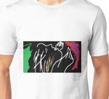 Woman mourning -(030615)- MS Paint/Mouse drawn Unisex T-Shirt
