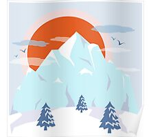 Winter breeze Poster