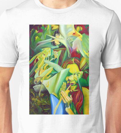 Escape To Fantasy, 120-80cm, 2016, oil on canvas Unisex T-Shirt