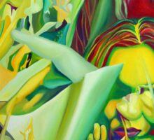Escape To Fantasy, 120-80cm, 2016, oil on canvas Sticker