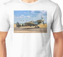 The Grace Spitfire taxies out Unisex T-Shirt