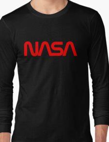 NASA Worm logo Long Sleeve T-Shirt