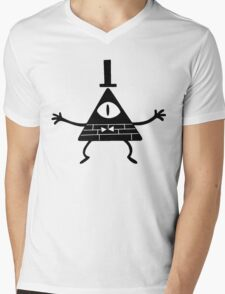 Bill Cipher Mens V-Neck T-Shirt