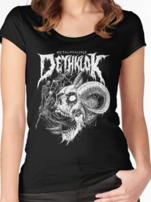 Dethklok Women's Fitted Scoop T-Shirt