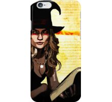 Witch of Fire and Crow iPhone Case/Skin