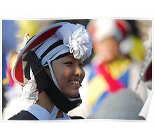 Traditional Korean Band Member 3 Poster