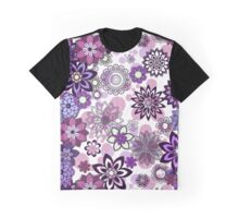 Beautiful violet flowers Graphic T-Shirt