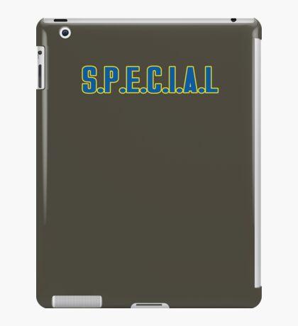 S.P.E.C.I.A.L iPad Case/Skin