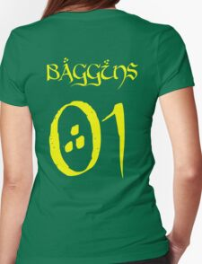 Bilbaggins 01 Womens Fitted T-Shirt