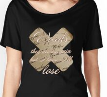 Words | Another Love Women's Relaxed Fit T-Shirt
