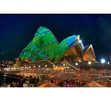 Luminous Opera House Photographic Print