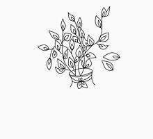 Color-in flower in a Vase Unisex T-Shirt