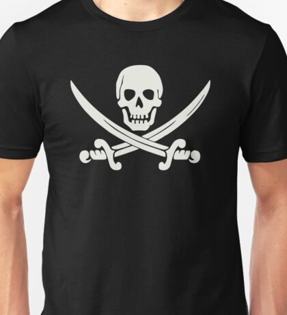 White Pirate Unisex T-Shirt
