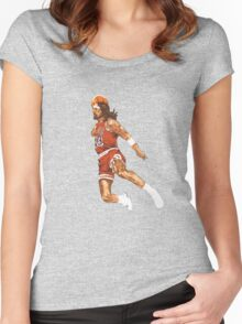Air Jesus ! Women's Fitted Scoop T-Shirt