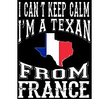 Texan From FRANCE Photographic Print
