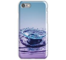 Turquoise Sombrero ~ Water Drops iPhone Case/Skin