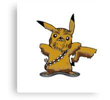 Pikachewie Canvas Print