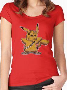 Pikachewie Women's Fitted Scoop T-Shirt