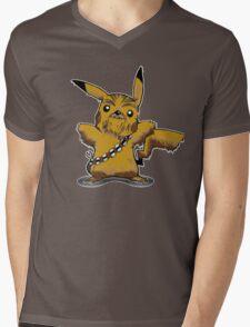 Pikachewie Mens V-Neck T-Shirt