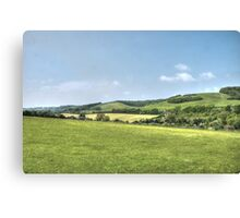 England's Green and Pleasant Land Canvas Print