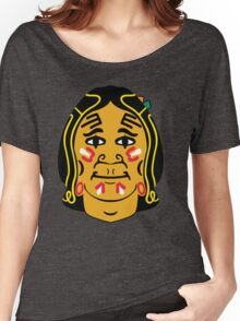 Blackhawks logo - From Front Women's Relaxed Fit T-Shirt
