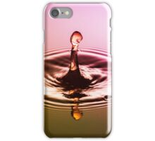 Pink & Gold Drop ~ Water Drops iPhone Case/Skin