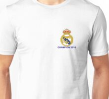 Real Madrid Champion 2016 Unisex T-Shirt