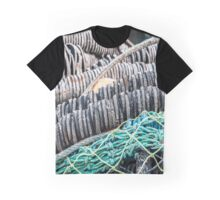Rubber and Net Graphic T-Shirt