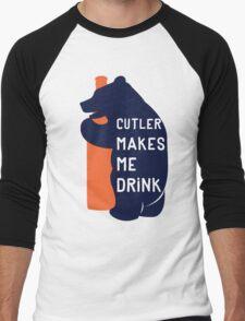 Cutler Makes Me Drink Men's Baseball ¾ T-Shirt