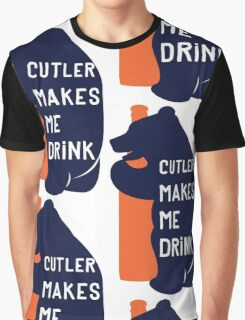 Cutler Makes Me Drink Graphic T-Shirt