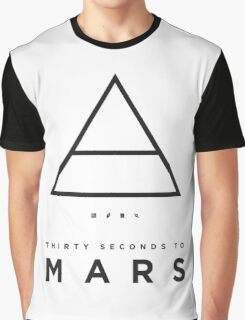 30 Seconds To Mars Triad Graphic T-Shirt
