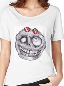 Keep Calm and GRIN Women's Relaxed Fit T-Shirt