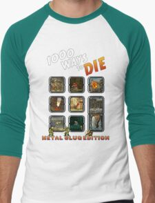 1000 ways to die - Metal Slug Edition Men's Baseball ¾ T-Shirt
