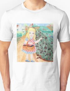 Goldilocks Picking Blackberries Unisex T-Shirt
