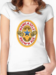 NEWCASTLE BROWN ALE Women's Fitted Scoop T-Shirt